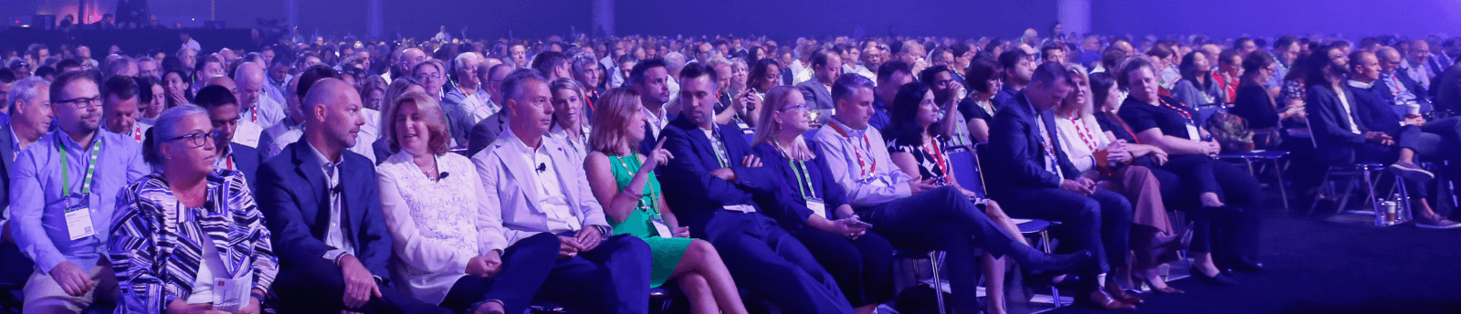 Inforum attendees at the general session with Infor executives